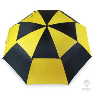 ร่มกอล์ฟ สีเหลือง-ดำ 30 นิ้ว