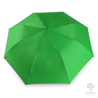 ร่มพับ 2 ตอน สีเขียวอ่อน 21 นิ้ว (ด้ามจับตามสีผ้า)