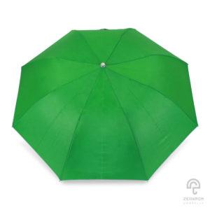 ร่มพับ 2 ตอน สีเขียว 21 นิ้ว