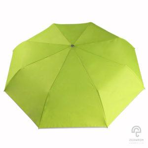 ร่มพับ 3 ตอน สีเขียวอ่อน
