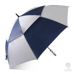 ร่มกอล์ฟ สีน้ำเงิน-ขาว 30 นิ้ว
