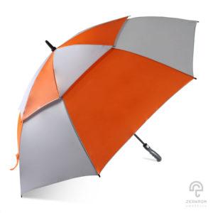 ร่มกอล์ฟ สีส้ม-เทา 30 นิ้ว