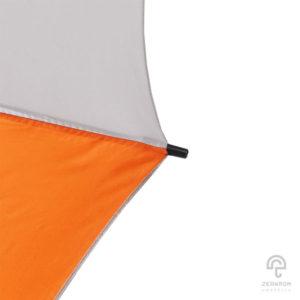ร่มกอล์ฟ สีส้ม-ขาว 30 นิ้ว