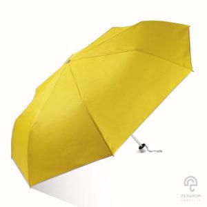 ร่มพับ 3 ตอน สีเหลือง