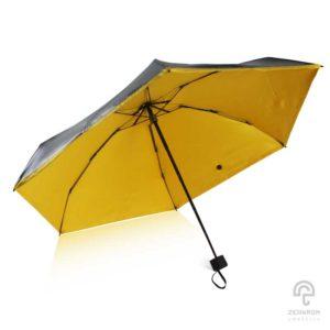 ร่ม Mini pocket สีเหลือง 21 นิ้ว