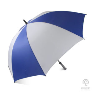 ร่มกอล์ฟ สีน้ำเงิน-ขาว 30 นิ้ว 1 ชั้น