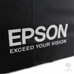 ร่มพับ 2 ตอน โลโก้ Epson