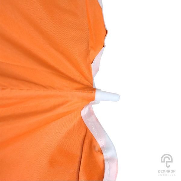ร่มขายของ สีส้ม 34 นิ้ว