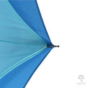 ร่มกลับด้าน สีฟ้าอ่อน-เข้ม 24 นิ้ว