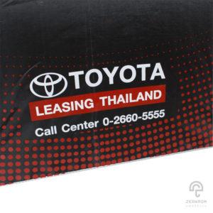 ร่มพับ 2 ตอน 22 นิ้ว โลโก้ Toyota Leasing