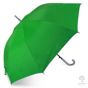 ร่มตอนเดียว สีเขียว ขนาด 24 นิ้ว