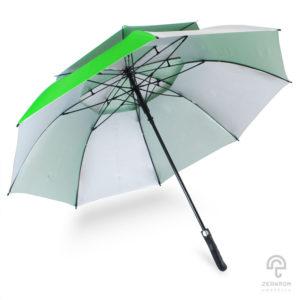 ร่มกอล์ฟ สีเขียว-ขาว 30 นิ้ว