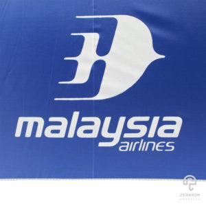 ร่มพรีเมี่ยม ตอนเดียว 30 นิ้ว โลโก้ Malasia Airlines