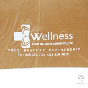ร่มพรีเมี่ยม แบบไม้เท้า 24 นิ้ว โลโก้ Ubon Wellness Center CO.,LTD.