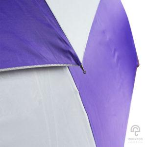 ร่มกอล์ฟ สีม่วง-ขาว 30 นิ้ว 2 ชั้น
