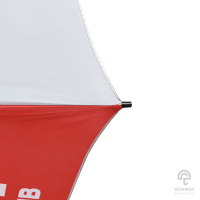 ร่มพรีเมี่ยม สีแดง-ดำ ตอนเดียว 30 นิ้ว โลโก้ Liverpool