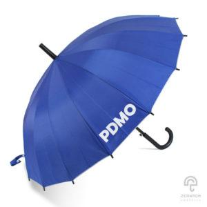 ร่มพรีเมี่ยม ตอนเดียว 24 นิ้ว โลโก้ สำนักงานบริหารหนี้สาธารณะ : PDMO