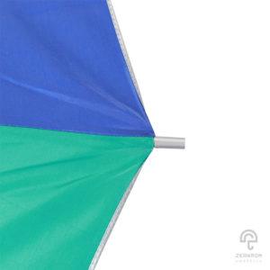ร่มพรีเมี่ยม ตอนเดียว สีน้ำเงิน-เขียวมิ้นต์ 24 นิ้ว โลโก้ Mederma intense gel