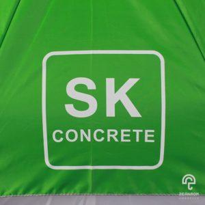 ร่มพรีเมี่ยมกอล์ฟ 30 นิ้ว 2 ชั้น โลโก้ SK concrete