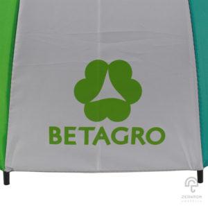 ร่มตอนเดียว หลากสี 24 นิ้ว(16 ก้าน) โลโก้ BETAGRO
