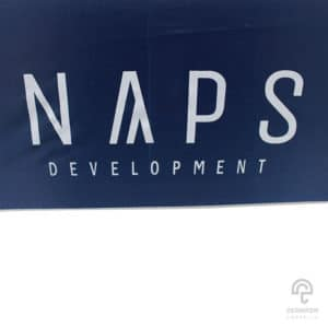 ร่มพรีเมี่ยม ตอนเดียว 30 นิ้ว โลโก้ NAPS DEVELOPMENTร่มพรีเมี่ยม ตอนเดียว 30 นิ้ว โลโก้ NAPS DEVELOPMENT