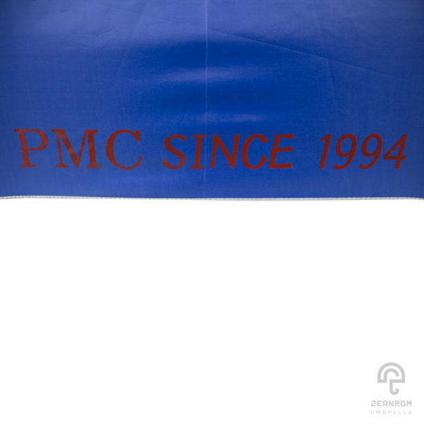 ร่มกอล์ฟพรีเมี่ยม 30 นิ้ว 2 ชั้น สกีนโลโก้ PMC SINCE 1994