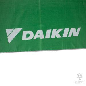 ร่มพรีเมี่ยม สีเขียว ขนาด 21 นิ้ว โลโก้ DAIKIN