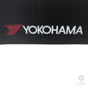 ร่มพรีเมี่ยม ตอนเดียว 30 นิ้ว โลโก้ YOKOHAMA