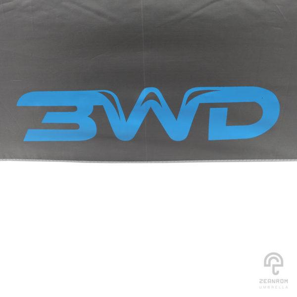 ร่มกอล์ฟพรีเมี่ยม 30 นิ้ว 2 ชั้น สกีนโลโก้ 3WD