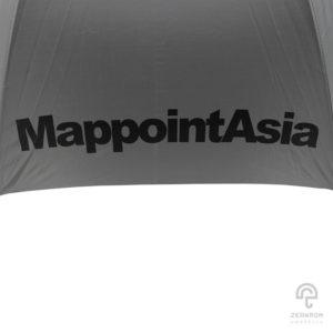 ร่มพรีเมี่ยม ตอนเดียว 30 นิ้ว โลโก้ Mappoint Asia