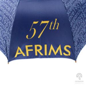 ร่มตอนเดียว 24 นิ้ว(โครงไม้) โลโก้ AFRIMS